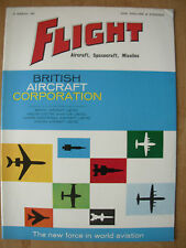 FLIGHT AIRCRAFT SPACECRAFT MISSILES MAGAZINE MARCH 16th 1961 BRITISH AIRCRAFT CO