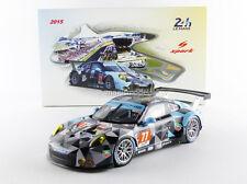 Spark Porsche 911 991 GT3 RSR 24h Le Mans 2015 Dempsey Proton Racing #77 1/18
