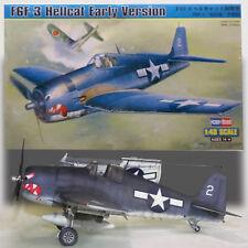 HOBBY BOSS 1/48 F6F-3 HELLCAT (EARLY) MODEL KIT 80338