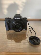 (NOT WORKING) Canon PowerShot G1 X Mark III 24.2 MP Digital Camera - Black
