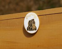 Park City Gold Tone Metal & Enamel Lapel Pin Pinback