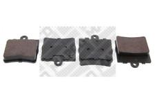 Bremsbelagsatz, Scheibenbremse MAPCO 6599 hinten für CHRYSLER MERCEDES-BENZ
