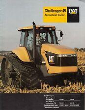 CAT Challenger 45 Agricultural TRACTOR BROCHURE ~ 1996 ~ US Spec