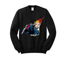 Diabolik felpa girocollo abbigliamento Eva Kant Cartoon Comics Film idea regalo