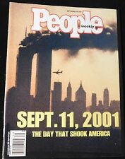2001 People SPECIAL SEPT. 11 2001 Issue (MINT COPY)