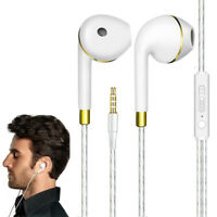 3.5mm Super Bass Music In Ear Stereo Headphone Headset Earphone Earbuds w/ Mic