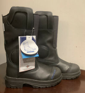 COSMAS ANCLE ARMOR SEI Firefighter Boots, Size Titan 4D  NEW WITH TAGS