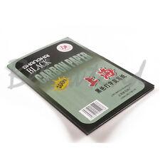 Carbon 100 Sheets Paper Hand Copy Stencil Transfer Repro Hectograph