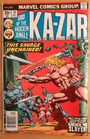 KA-ZAR #19 Lord of the Hidden Jungle (1976 MARVEL Comics) GD Book