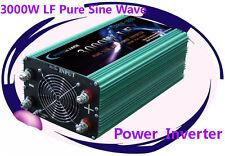 12000W Peak 3000W Low Frequency Pure Sine Wave Power Inverter 24VDC/110V AC 60Hz