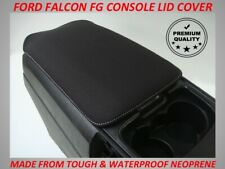 FORD FALCON FG  XR6  XR8 NEOPRENE  CONSOLE LID COVER (WETSUIT MATERIAL)