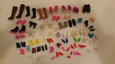 Vintage Barbie doll & Ken shoes 61 pairs-Boots,heels,inline skates,sneakers lot