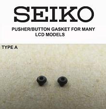 SEIKO Pusher/pulsante guarnizioni per molti vintage LCD orologi digitali di tipo A