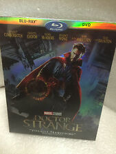 MARVEL DOCTOR STRANGE BLU RAY DVD 2 DISC SET + SLIPCOVER SLEEVE NEW Sealed