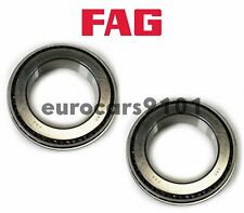 Mercedes G65 AMG FAG (2) Front Inner Left Rear Wheel Bearings 99905902700 32010X