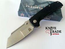 Komoran Linerlock 022 Folding Knife G10 Handle, Stonewash Finish, KO022