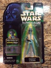 "STAR WARS The Power Of The Force Greedo with Blaster  3.75"" Figure"