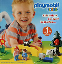 Prospekt Playmobil 1-2-3 1/13 2013 Broschüre 20 S. Spielzeug Spielwaren Katalog