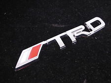 New Toyota Corolla Camry Matrix Yaris Tundra Tacoma Rear Side TRD Chrome Emblem