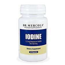 Dr. Mercola Iodine - 1.2mg Potassium Iodide - 30 Capsules