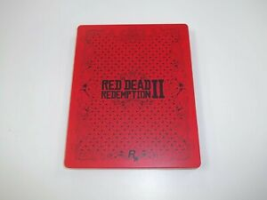 Red Dead Redemption 2 Steelbook - Xbox One REPLACEMeNT CASE ONLY