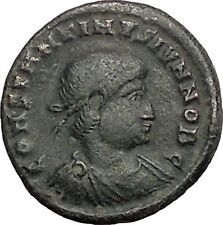 CONSTANTINE II Constantine theGreat son 331AD Ancient Roman Coin Standard i56097