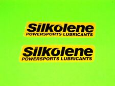 SILKOLENE POWERSPORTS LUBRICANTS MOTORCYCLE MOTOCROSS QUAD ATV STICKERS DECALS #