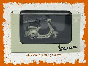 🛵 New Ray VESPA 125U (1953) 1:32 Die Cast Scooter Model 🛵