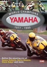 World Champions Yamaha 1977 - 1980 New DVD Motorcycle Sport Sheene Baker Roberts