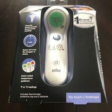 Braun No Touch Forehead Digital Thermometer NTF3000 TOUCHLESS BABIES KIDS
