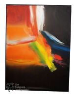 """""""Intangible Experience"""" Roger Sayre Contemporary Abstract Oil Painting Modernist"""