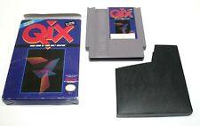 Qix (Nintendo Entertainment System, 1991) In Box Fast Shipping
