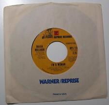 MARIA MULDAUR - I'm A Woman / Cool River (45 RPM Single, 1974) VG+