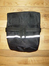 H D QUALITY SEA KAYAK DECK MOUNTED TOWLINE BAG (BLACK or BLUE & REFLECTIVE TAPE)