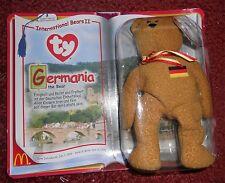 Ty Beanies - International Series II - Germania, Osito, Spangle