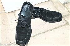 chaussures habillées bcbg en daim noir HUGO BOSS pointure 42 (8)  excellent état