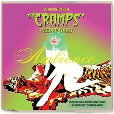 Ambience: 63 Nuggets From The Cramps' Record Vault (2017, CD NUEVO)2 DISC SET