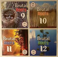 'Brutal Roots' Volumes 9-12 JUMBO Pack Modern Roots Reggae Collection (4CDs)