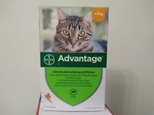 ADVANTAGE¹40 anti puces chat/cat moins 4 kg Flea Treatment boite de 4 pipettes