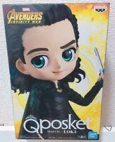 Q posket MARVEL Special Color Loki Avengers INFINITY WAR Figure B