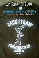 Grateful Dead and Company T Shirt Jack Straw Jerry Garcia  classic sm-5xlg olive