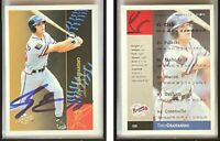 Tony Graffanino Signed 1994-95 Excel #150 Card Greenville Braves Auto Autograph