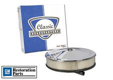 NEW CHQ 1966-69 Chevelle 1968-69 Nova 396cu Chrome Open Element Air Cleaner Assy