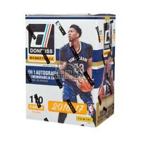 2016-17 Panini Donruss Basketball 10ct Blaster Box