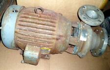 Ampco 4X3Zchz2 3500 Rpm Centrifugal Pump W Baldor Jmm2394T 254 Jm 15 Hp 3525 Rpm