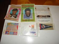 5 Sports Cereal Premiums Pennant Poster + 1 More + 2 197t Topps Football Posters