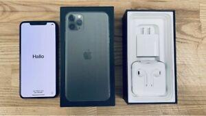 Apple iPhone 11 Pro - 256GB - MidnightGreen (Unlocked) A2160 (CDMA + GSM) (CA)