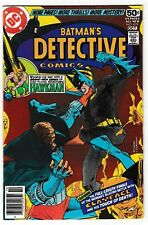 DETECTIVE COMICS #479 (NM-) BATMAN! 2nd CLAYFACE! Marshall Rogers Art! 44 Pages!