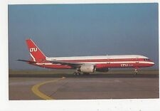 LTU Sud Boeing 757-2G5 Aviation Postcard, B008