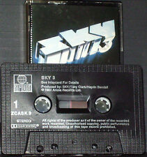 Sky Sky 3 CASSETTE  John Williams Kevin Peek Herbie Flowers Tristan Fry